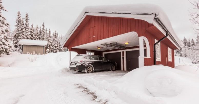 Jak używać bramę garażową zimą?